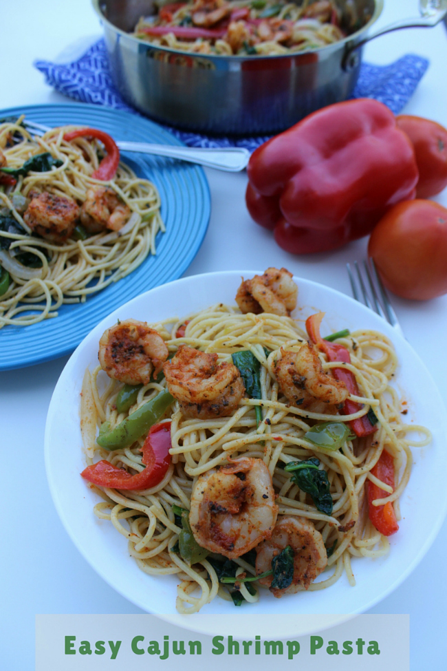 Easy Cajun Shrimp Pasta Recipe