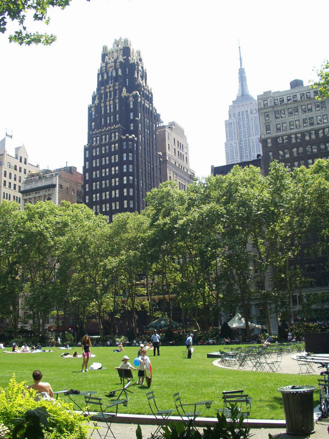 Hidden NYC Attractions - Bryant Park