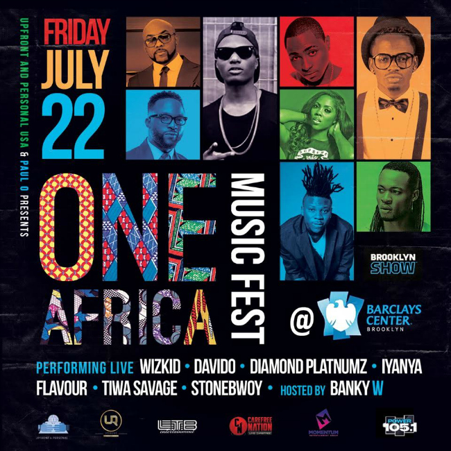 One Africa Music Fest Playlist