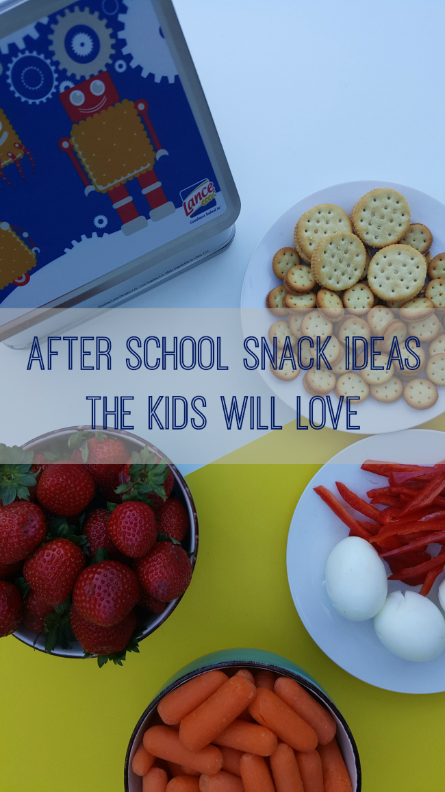 After School Snack Ideas the Kids Will Love