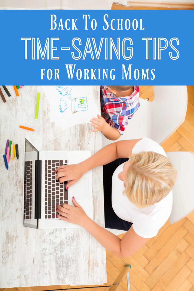 Time-Saving Tips for Working Moms