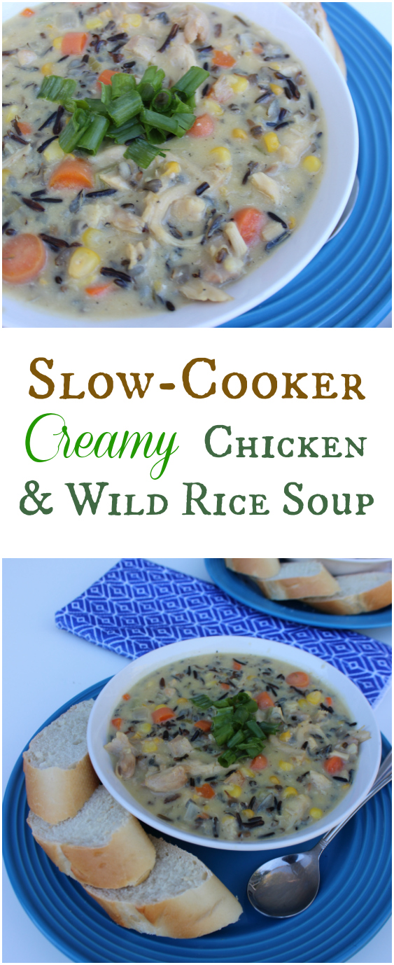 Easy Slow-Cooker Creamy Chicken and Wild Rice Soup ...