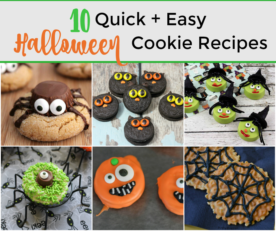 10 Spooky and Easy Halloween Cookie Recipes for your next party