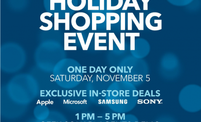 Special Holiday Shopping Event