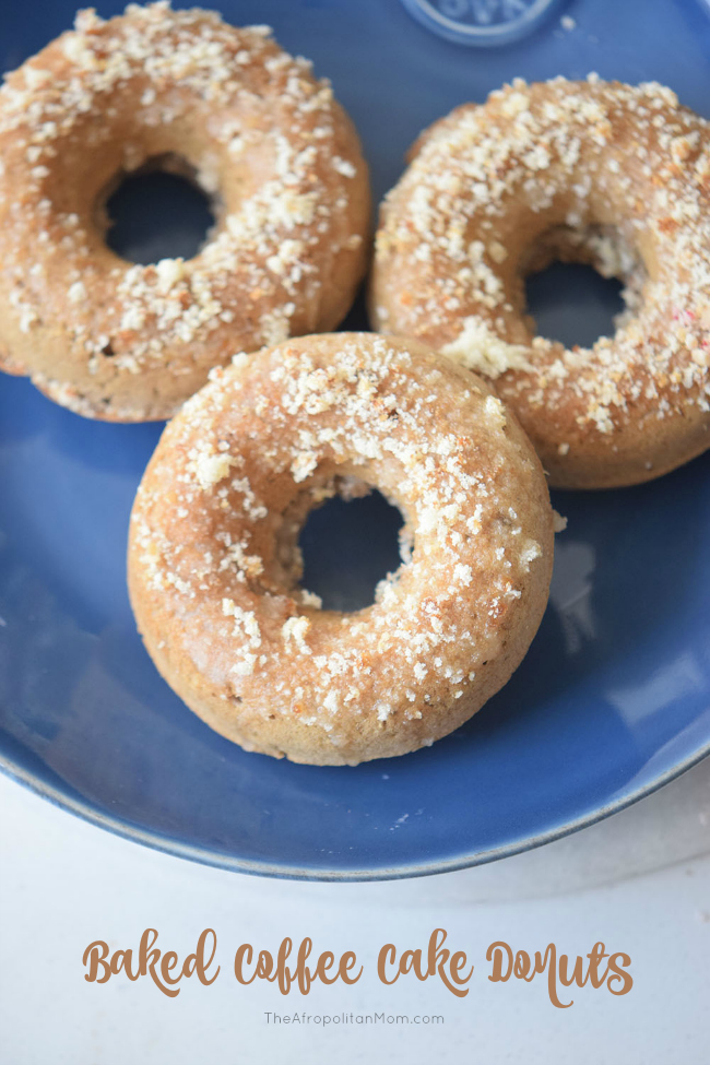 Easy Coffee Cake Donuts