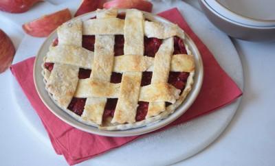 Raspberry Apple Tart