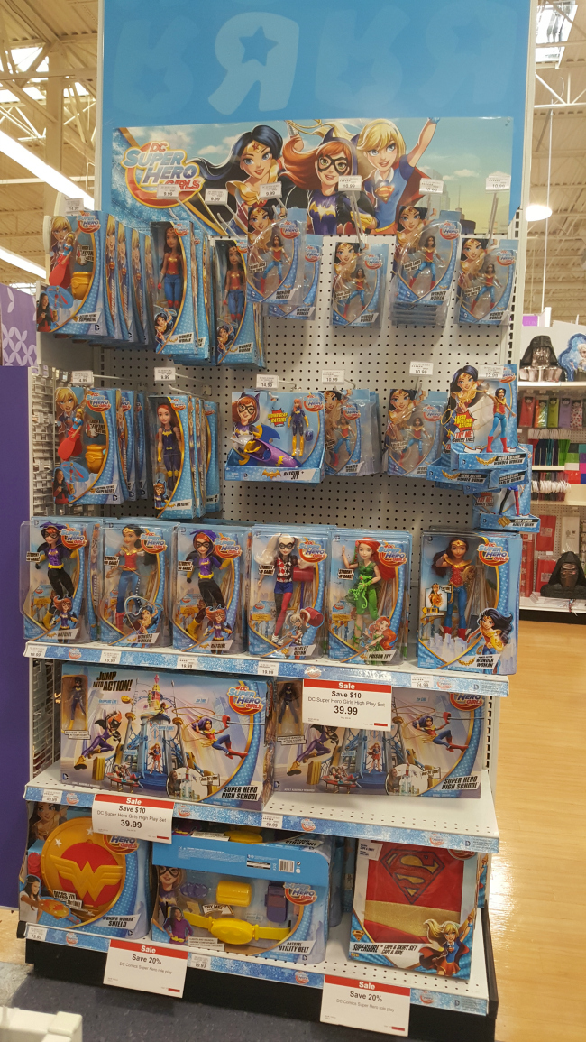 DC Super Hero Girls Dolls at Toys R Us
