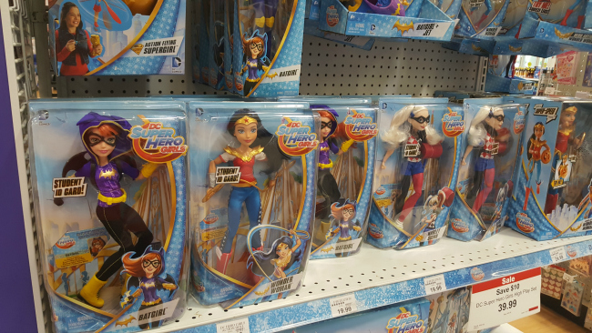 DC Super Hero Girls at Toys R Us