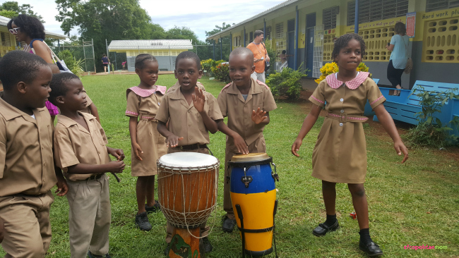 mount-airy-primary-and-infant-school-student-dancing-and-playing-the-drums