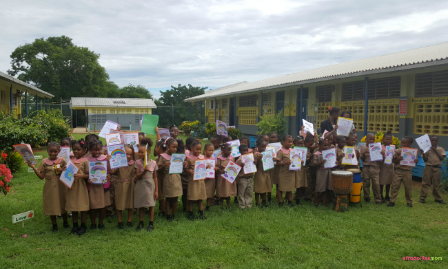mount airy primary and infant school jamaica reading road trip sandals foundation
