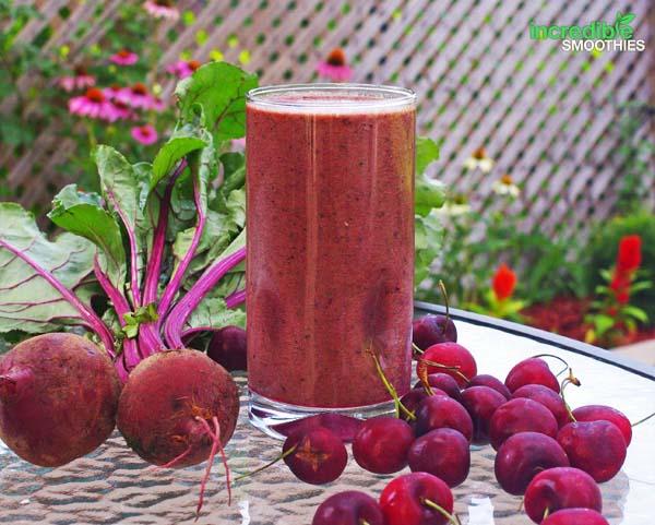 cherry-apple-beet-smoothie
