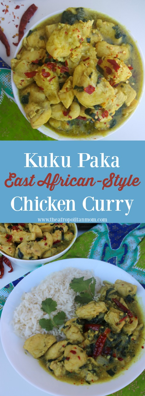 Kuku Paka Recipe - An easy East African-Style Chicken Curry full of flavor and ready in less than 30 minutes. Perfect for weeknight dinner
