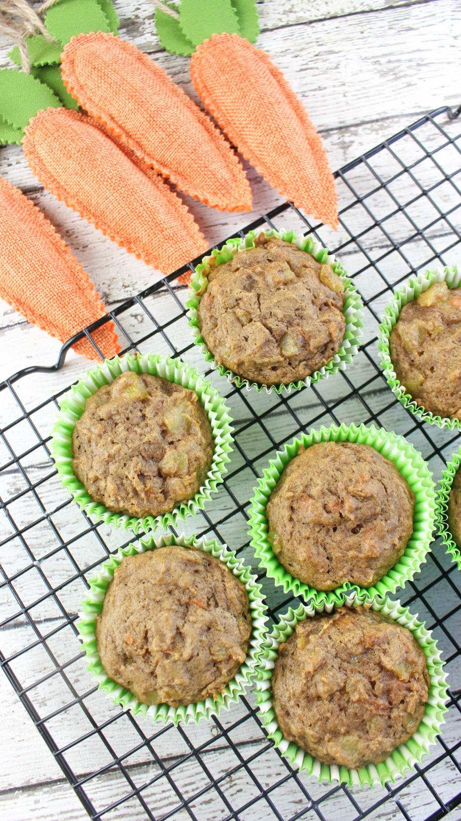 Carrot Cake Muffins Recipe - Afropolitan Mom