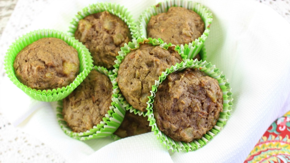 Carrot Cake Muffins - gluten-free - paleo