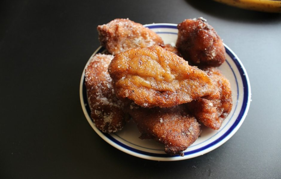 Coconut Banana Fritters - Afropolitan Mom