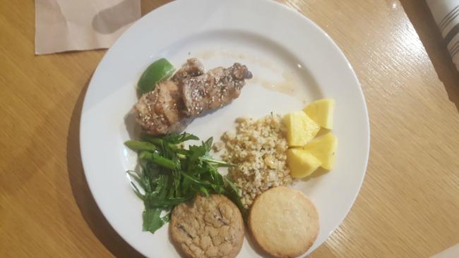 Healthy Lunch at Pixar Animation Studios San Francisco