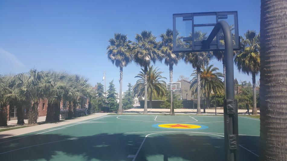 Pixar Animation Studios - Basketball Court