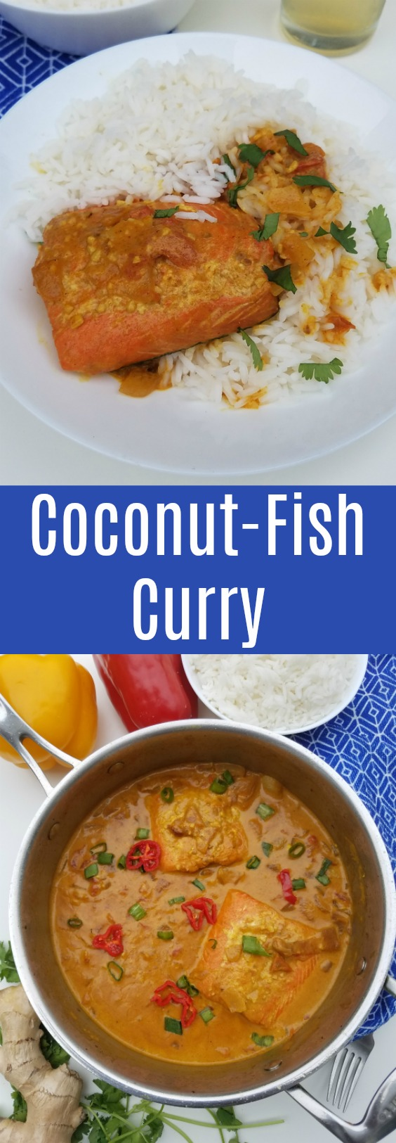 Curry in a hurry. Add this easy coconut fish curry recipe to your menu. Great for a dinner ready in less than 30 minutes @Alaska Seafood #AskForAlaska #IC (ad)