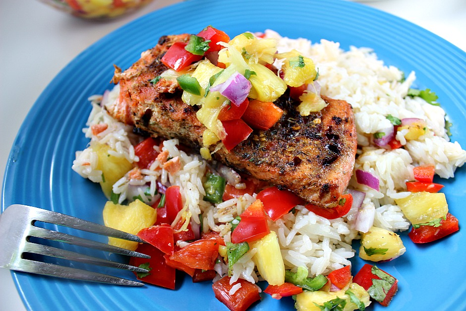 Easy Cajun Blackened Salmon