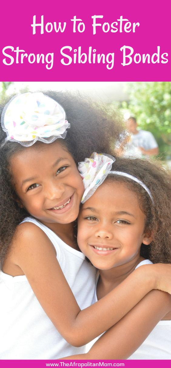 How to foster strong sibling bonds especially when there is an age gap