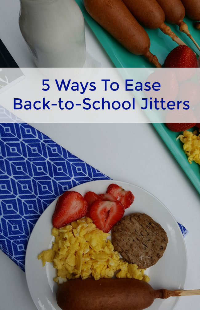 After a chill summer, the thought of heading back to school isn't appealing. Here are some ways to ease back-to-school jitters for parents and kids alike.