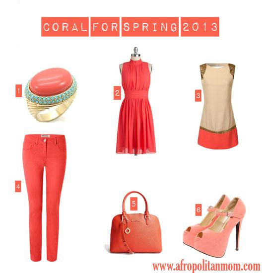 2013 Spring Trend Alert: Coral