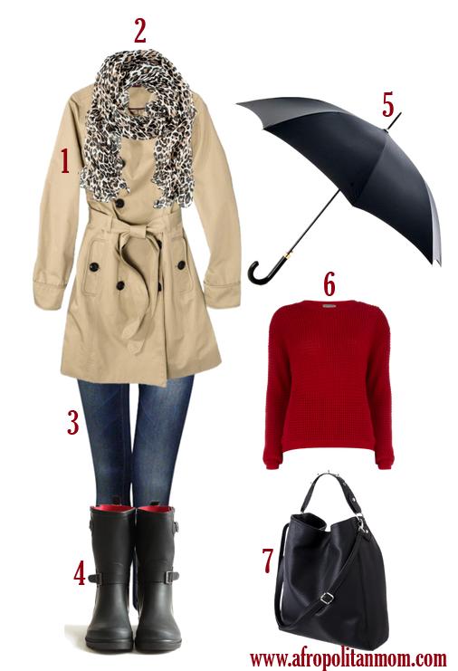 rainy attire