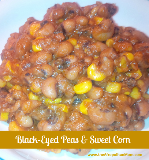 Black-Eyed Peas & Sweet Corn