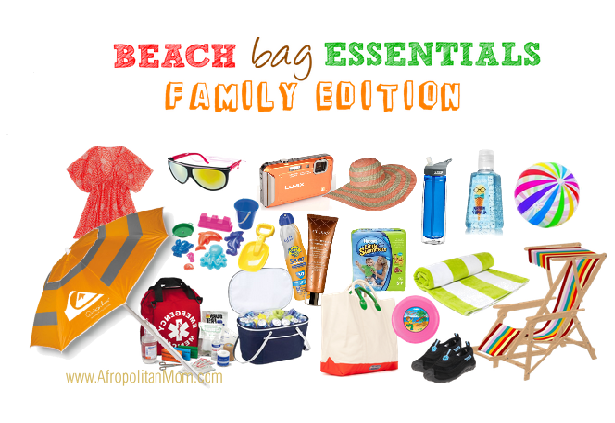 family beach bag essentials