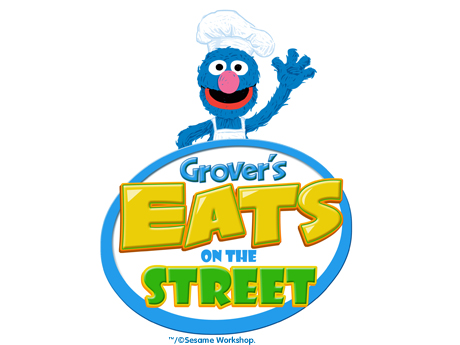 Grover's Eats On The Street - sesame place