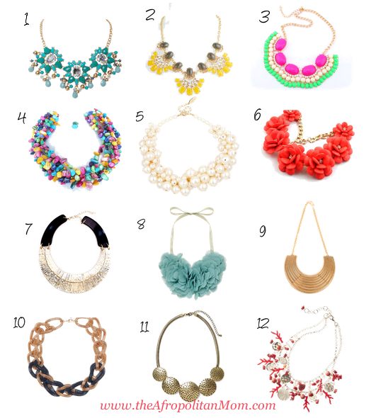 Statement Necklaces Under $50