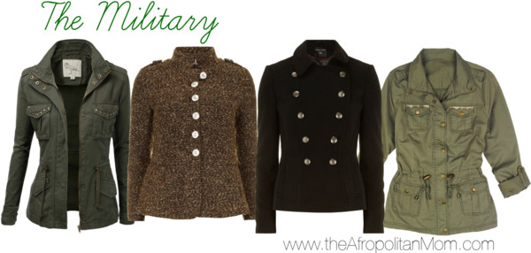 Fall Coat Trends - Military-Inspired Coats for Fall