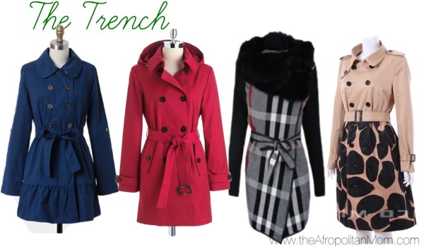 Fall Coat Trends - Trench Coats for Fall