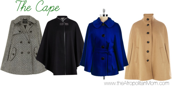 Fall Coat Trends - Cape Coats for Fall