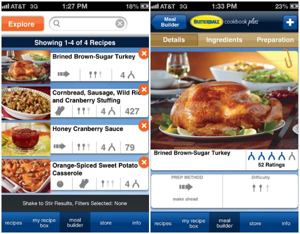 Butterball Cookbook Plus App
