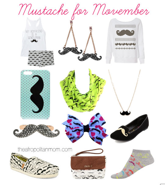 Mustache Fashion for Movember