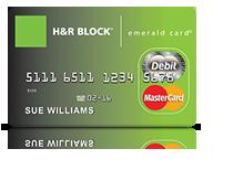 h&R block mastercard