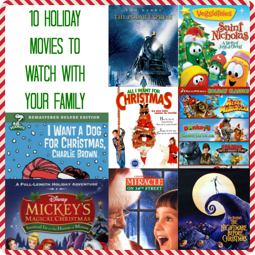 10 Holiday Movies to Watch with Your Family
