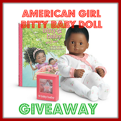 Win an American Girl Bitty Baby Doll Package