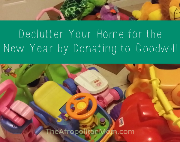 Declutter Your Home for the New Year by donating to Goodwill
