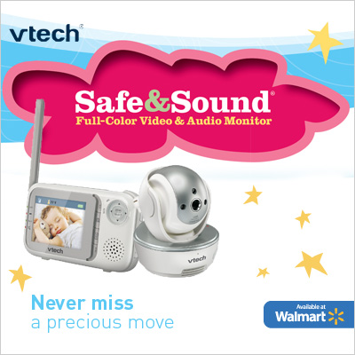 Vtech Safe & Sound Pan and Tilt Full Color Video Monitor