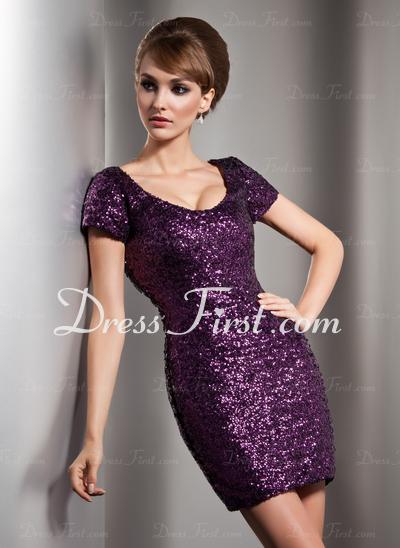 dressfirst purplesequins