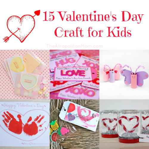 15 Valentine's Day Craft for Kids
