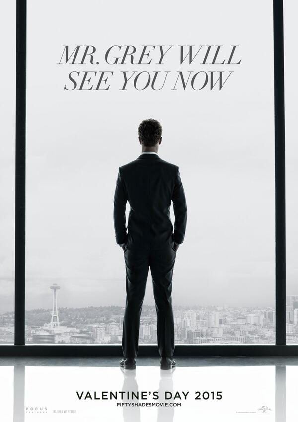 '50 Shades of Grey' Movie Poster Revealed