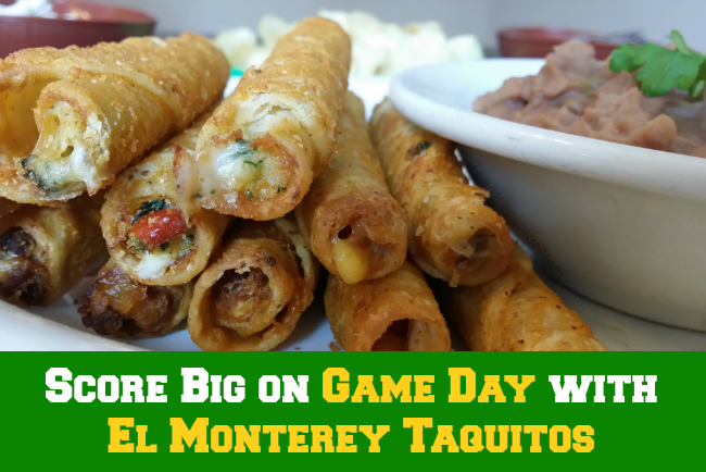 Score Big on Game Day with El Monterey Taquitos