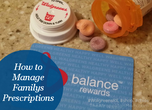 Walgreens Family Prescription Management #WalgreensRX, #shop, #cbias