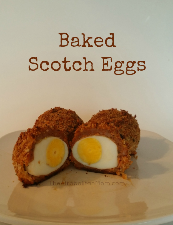 Scotch Eggs - Baked not Fried - It will make a perfect #appetizer for #Easter #recipe
