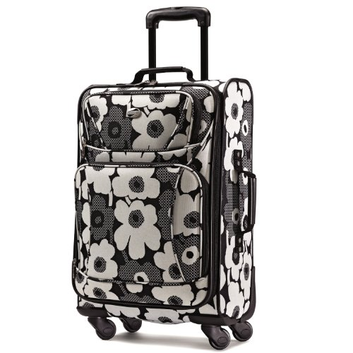 American Tourister Color Your World-black-whitefloralprint