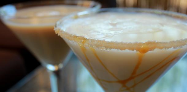 Salted Caramel Coffee Martini