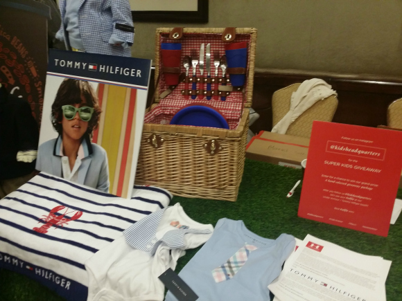 Tommy Hilfiger and Under Armour from Kids Headquarters at Mom Mixer 2014